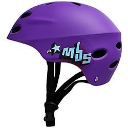 MBS 'Logos' Purple Large/ XLarge Helmet