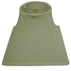 Square Round-top Cream Lamp Shade