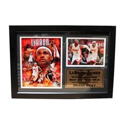 Miami Heat LeBron James Frame