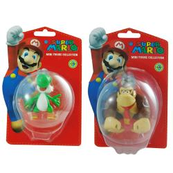 Super Mario Brothers Yoshi and Donky Kong Figurine Bundle 8134628
