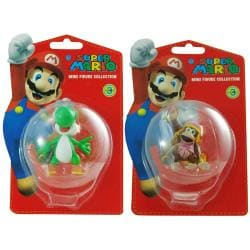 Super Mario Brothers Yoshi and Dixie Kong Figurine Bundle 8134637