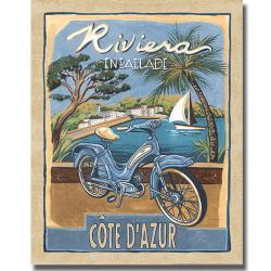 Charlene Audrey 'Riviera' Canvas Art