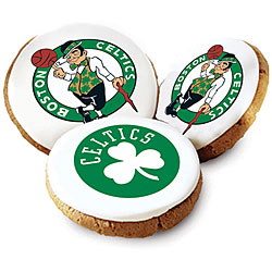 Mrs. Fields Boston Celetics Logo Butter Cookies (Pack of 12)