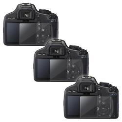 INSTEN Clear Screen Protector for Canon EOS 550D (Pack of 3)