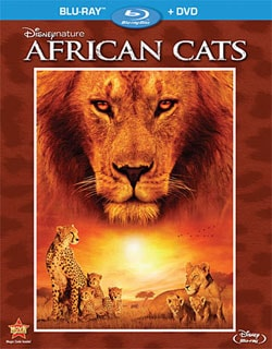 Disneynature: African Cats (Blu-ray/DVD) 8143788