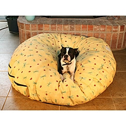 Large Round Buttercup Dragonfly Pet Bed
