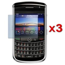 INSTEN Clear Screen Protector for BlackBerry Tour 9630/ Curve 8900 (Pack of 3)