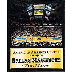 Dallas Mavericks Arena Stats Plaque