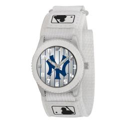 Game Time New York Yankees White Rookie Series Watch