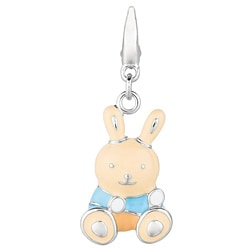 Sterling Silver Bunny Rabbit Charm