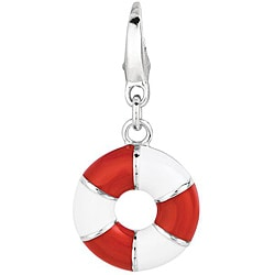 Sterling Silver Lifesaver Charm