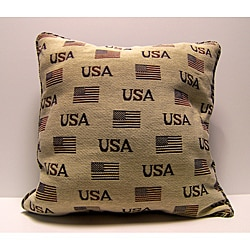 USA Flag Decorative Pillow