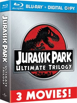Jurassic Park Ultimate Trilogy (Blu-ray Disc) 8184678