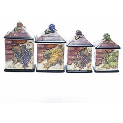 Canister sets house home for Hearth and home designs canister set