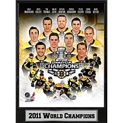 NHL 2011 Boston Bruins Stanley Cup Champions Ready-to-hang Plaque 8187472