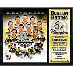 2011 Boston Bruins Stanley Cup Championship Plaque 8187473