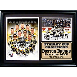 2011 Boston Bruins Stanley Cup Championship Frame 8187474