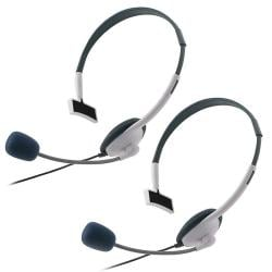INSTEN White Headset for Microsoft Xbox 360/ Xbox 360 Slim (Pack of 2) 8189529