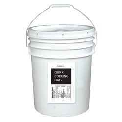 Lindon Farms 5-gallon Pail Quick Cooking Oats
