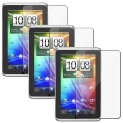Anti-Scratch Screen Protector for HTC Flyer (Pack of Three)