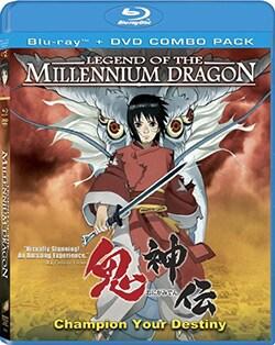 Legend of The Millennium Dragon (Blu-ray/DVD) 8203132