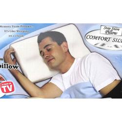 Comfort Silence Memory Foam Pillows (Set of 12)