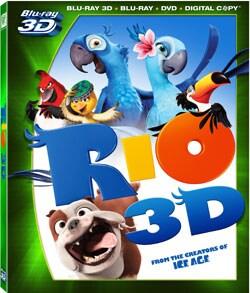 Rio 3D (Blu-ray/DVD) 8210486