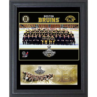 2011 Stanley Cup Champion Boston Bruins 11x14-inch Cachet Frame 8213649