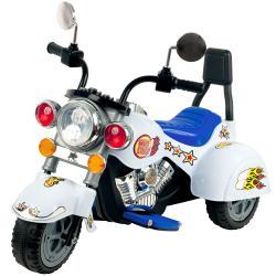 Lil' Rider White Knight Three Wheeler Motorcycle Ride-on