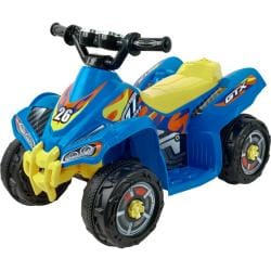 Lil' Rider Blue Bandit GT Sport Battery Operated ATV Ride-on