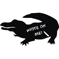 Vinyl Attraction Alligator Chalkboard Decal