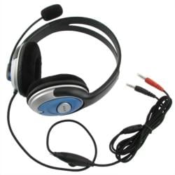INSTEN VOIP/ SKYPE Handsfree Stereo Headset with Microphone