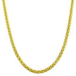 Fremada 14k Yellow Gold Popcorn Chain (20-inch)
