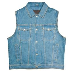 Mossi Men's Denim Vest