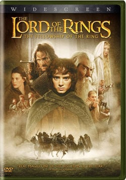 Lord of the Rings: The Fellowship of Ring (DVD) 680666
