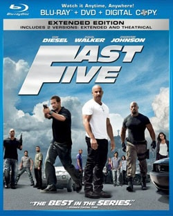 Fast Five (Extended Edition) (Blu-ray/DVD) 8236324