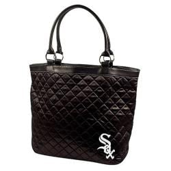 Little Earth MLB Chicago White Sox Quilted Tote Bag