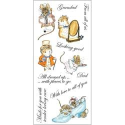 Beatrix Potter Appley Dapply Unmounted Stamp Set Sheet