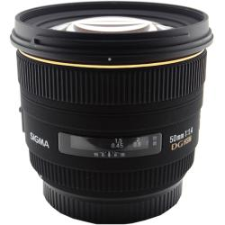 Sigma 50mm F1.4 EX DG HSM for Canon Lens