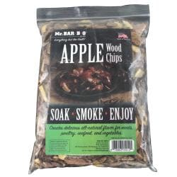 Mr. BBQ Apple Wood Chips Bundle (Pack of 2)