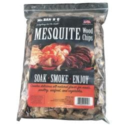 Mr. BBQ Mesquite Wood Chips Bundle (Pack of 2)