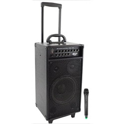 800 Watt VHF Wireless System/ Echo with iPod Dock (Refubished)