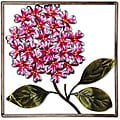 Deco Breeze Metal Hydrangea Wall Decor