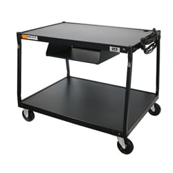 Quartet Pyramid 2-shelf AV Cart