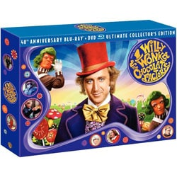 Willy Wonka And The Chocolate Factory: 40th Anniversary Ultimate Collector's Edition (Blu-ray Disc) 8289896