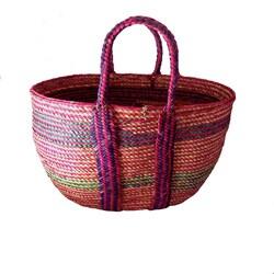 Hand-woven Raffia Tote Bag (Ethiopia)