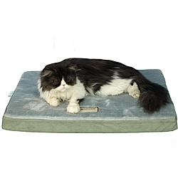 Armarkat Sage Green/ Grey 23x18-inch Memory Foam Orthopedic Pet Bed Pad