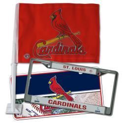St. Louis Cardinals Automotive Fan Pack 8309044