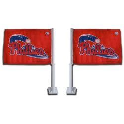 Philadelphia Phillies Car Flags (Set of 2)