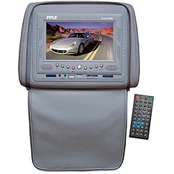 Pyle 7-inch LCD Monitor Adjustable Headrests with DVD/ IR/ FM Transmitter and Cover (Refurbished)